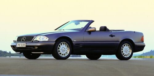 Mercedes SL R129 1989-2001 Bonnet /& Wings Stone chip Paint Protection film.