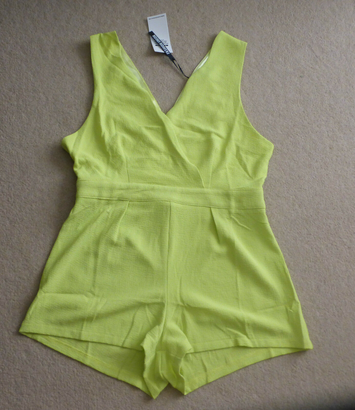 New Ladies Romper Playsuit  Size  UK 14 BNWT