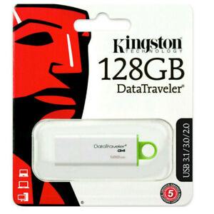 PEN-DRIVE-Kingston-DTIG4-128-GB-DataTraveler-USB-3-0-G4-BIANCO-VERDE