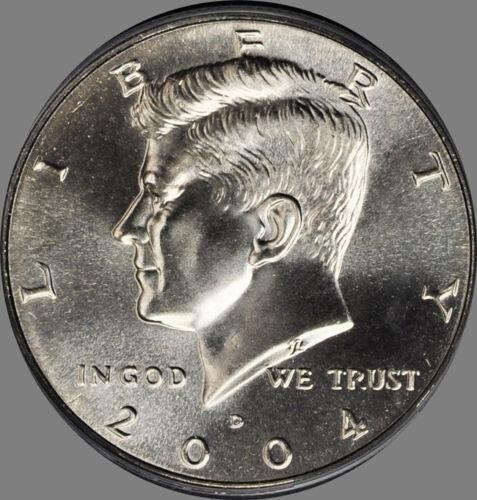 2004 P /& D Kennedy Half Dollar pair Choice//Gem Bu Set