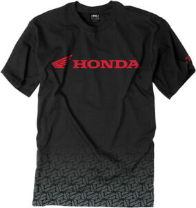 Factory-Effex-Licensed-Honda-Fade-T-Shirt-Black-Mens-All-Sizes