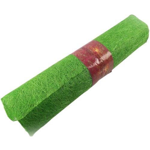 Tangle Tuff Pressed Abaca Sisal Wrap Mesh Roll 5 Yards 1 Yard Natural