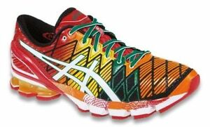 f908f9e05a0 Details about New n Box Men s Asics Gel-Kinsei 5 Running Shoe Red Yellow  Orange - Flash 9.5 D