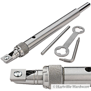 Robert Sorby #RSTM-SCT3 TurnMaster Shank with Square Tungsten Carbide Cutter