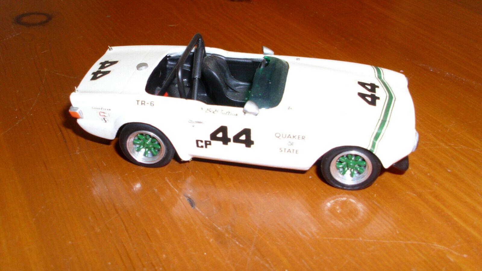 compras en linea Triumph TR 6 Quaker State Bob Tullius 1 43 muy muy muy raro  ventas al por mayor