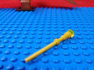 LEGO-MINIFIGUR<wbr/>ES  DISNEY X 1 GOLD STAFF FOR MALEFICENT FROM LEGO DISNEY PARTS