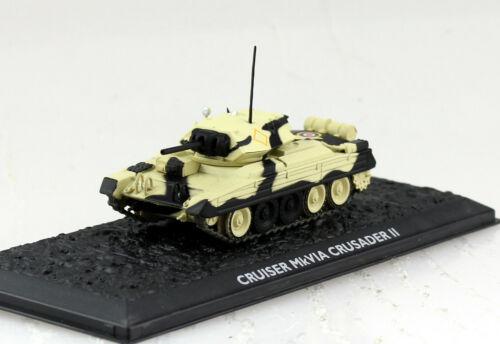Panzer Cruiser MK VIA Crusader 2 UT Fertigmodell 1:72 Altaya Modell
