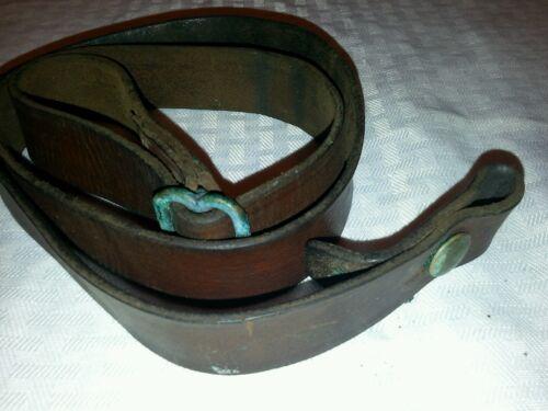 Sling Leather WW2 Reising Submachine-gun