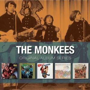 The-Monkees-Original-Album-Series-Mini-LP-Sleeve-5-Disc-CD-NEW