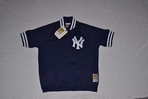 1d33d6e7d67 Mitchell   Ness Authentic 1 4 Zip BP Jersey New York Yankees 48 XL ...