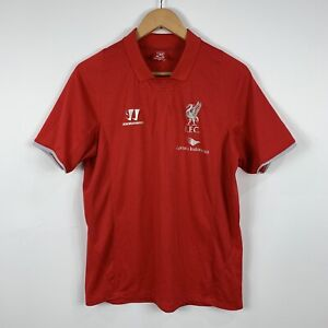 Warrior-Liverpool-FC-Mens-Soccer-Football-Jersey-Size-Medium-Red-Short-Sleeve