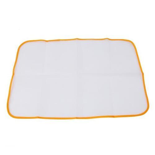 Protective Press Mesh Ironing Net Cloth Guard Home Use Garment Clothes Pad SI