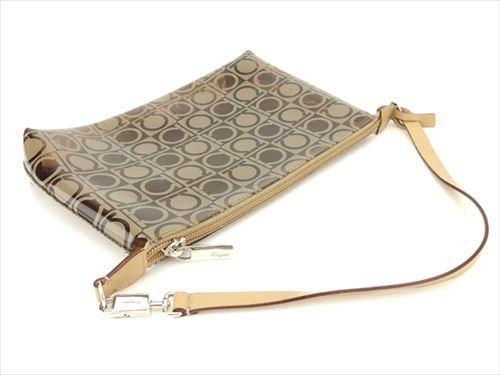 Woman Q476 Salvatore Authentic Bag Hand Used Ganchini Ferragamo Beige  Leather PwPqz 80020b1f471bc