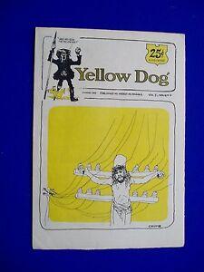 Yellow-Dog-4-underground-tabloid-comic-2nd-printing-1973-Crumb-Wilson-VFN
