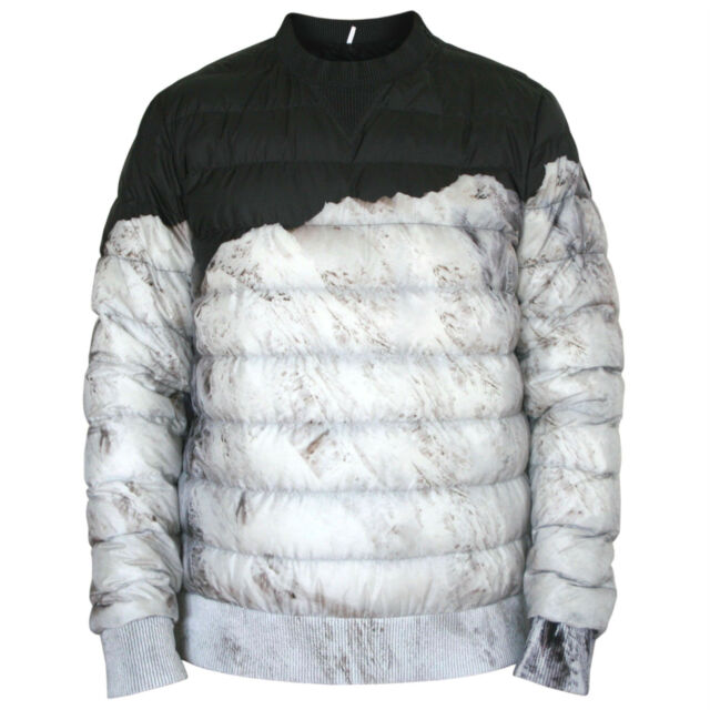 MONCLER x Dan Holdsworth Blackout quilted mountain puffer jacket Neiges coat 4/L