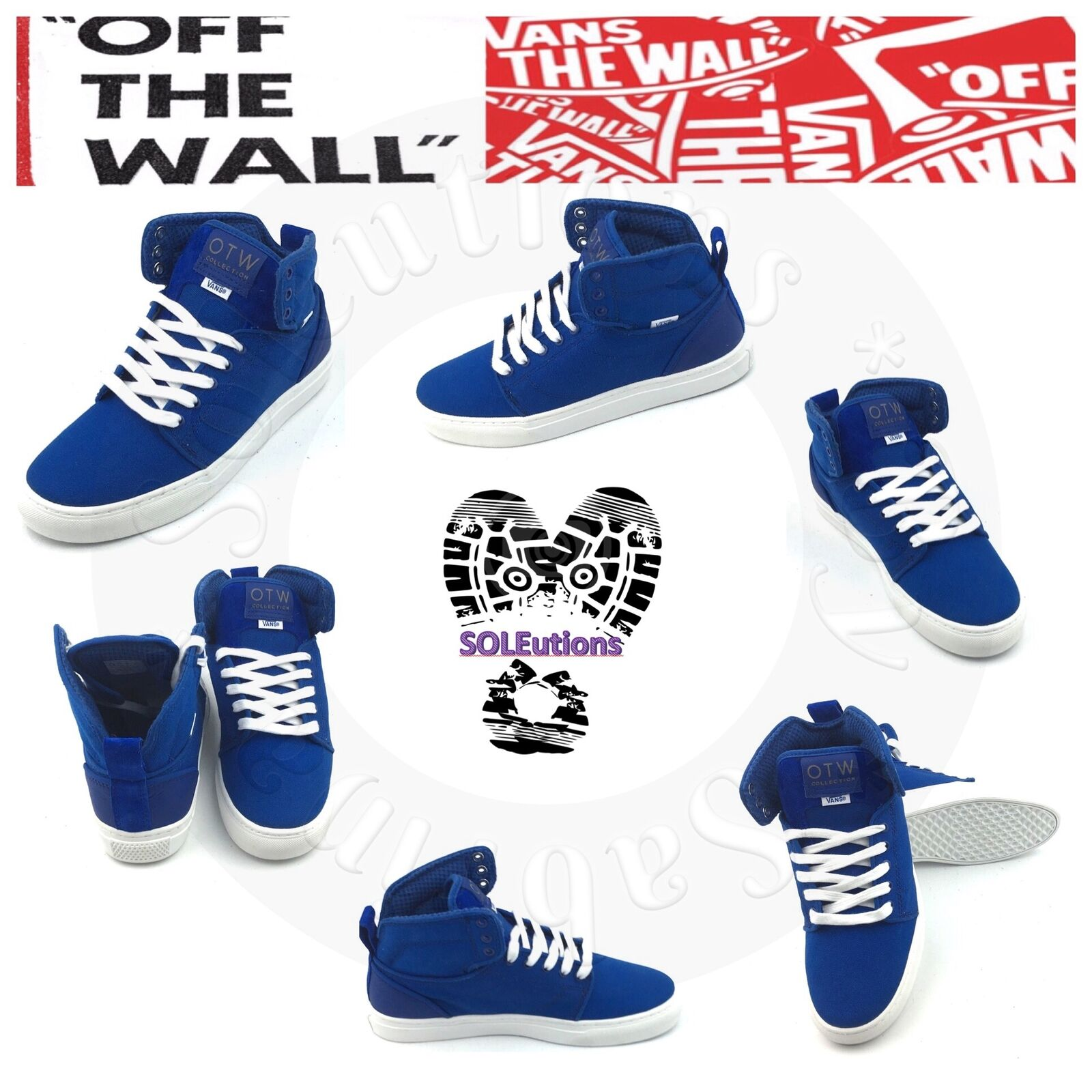 VANS OTW Alomar (Basic) bluee White M11