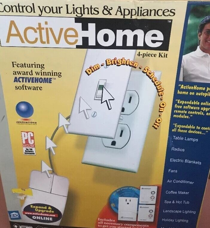 Active home 4-piece Kit Lights & Appliances VERY HARD TO FIND