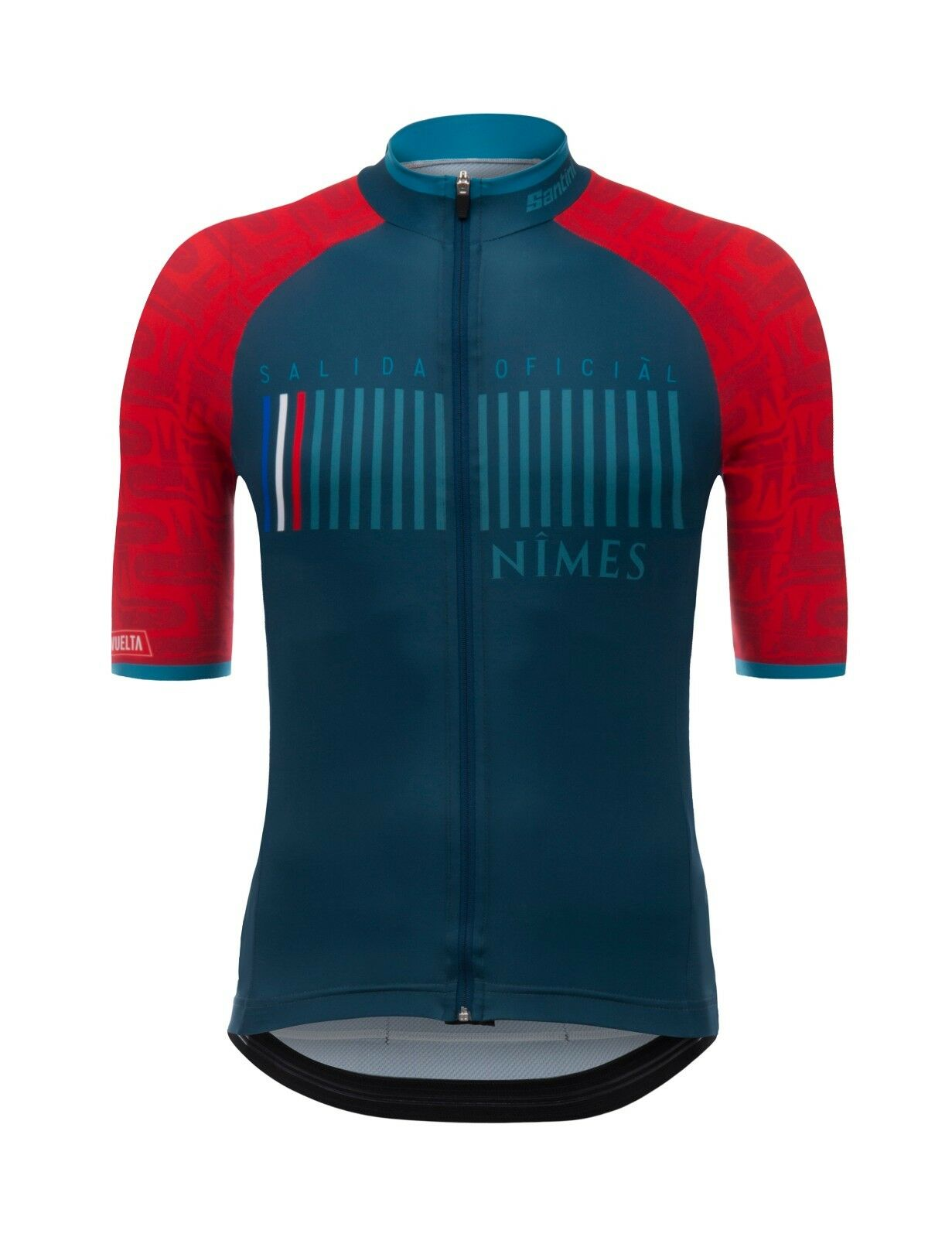 2017 La Vuelta a Espana Nimes Cycling Jersey  Made in  by Santini