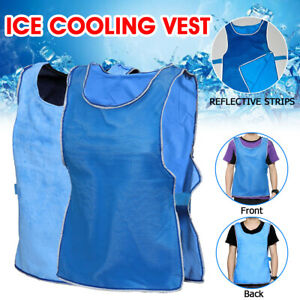 Summer Ice Cooling Vest Clothing for Outdoor Work High Temperature Protective