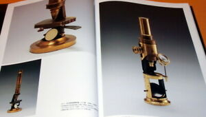 History of the Microscope book japan,hamano collection,vintage (0339)