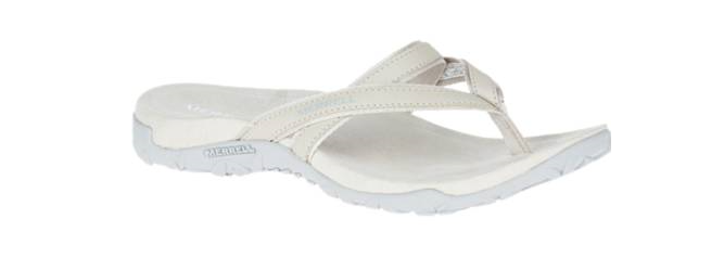 Merrell Terran Ari Post Silver Lining Comfort Sandal Women's sizes 5-11 NEW
