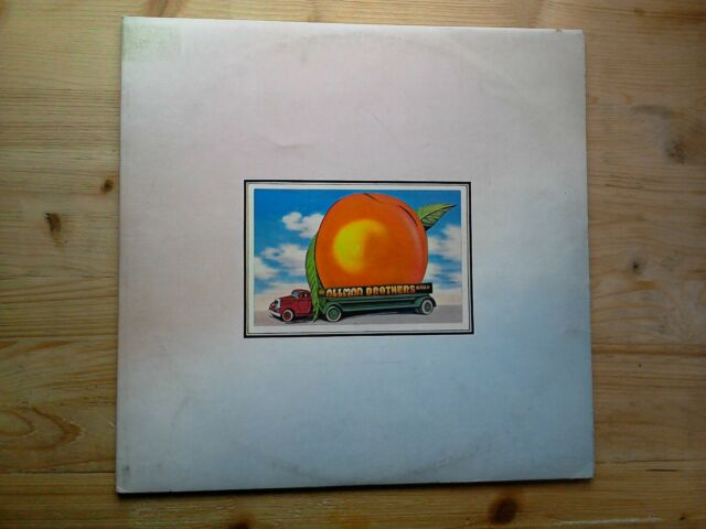The Allman Brothers Band Eat A Peach 1st Press EX 2 x Vinyl Record K67501 Insert