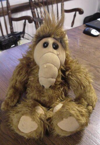 """Vintage 1986 Alf Alien Coleco Plush 18/"""" Doll Toy No Voice Box"""