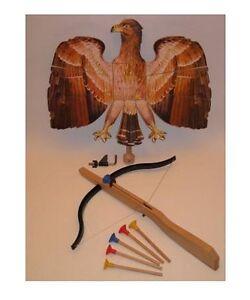 Adlerschiessen-Armbrust-Bogen-Vogelschiessen-Pfeile-Pfeil-Kinderarmbrust-NEU