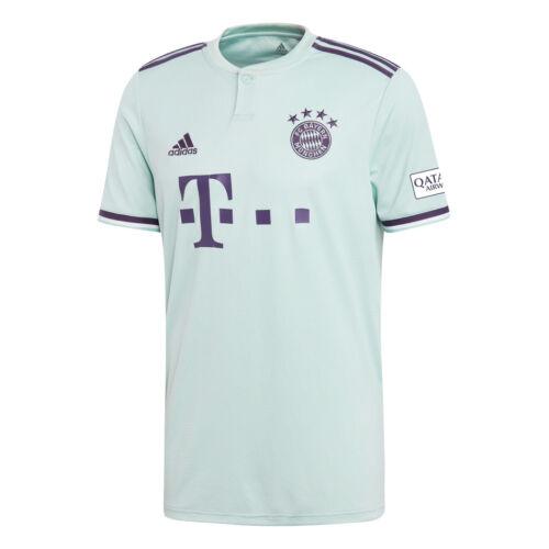 adidas FC Bayern München Auswärtstrikot 2018//2019 mintgrün CF5410