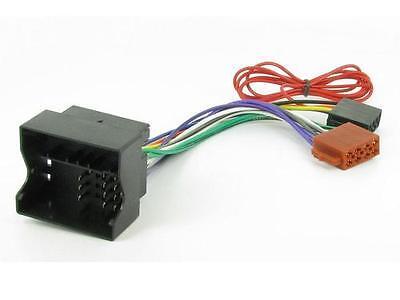 CT20BM03 se Ajusta BMW 1 E81 2005 en ISO Stereo Series Unidad Principal Adaptador De Cableado Plomo