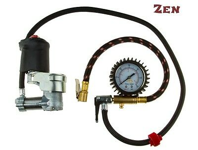 Air Compressor MotorPressor with gauge 12v pump motorcycle,