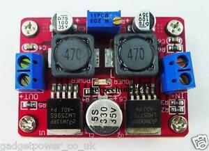 3A DC-DC STEP UP DOWN BUCK-BOOST CONVERTER 3.5-28V TO 1.25-26V LM2577S/2596S
