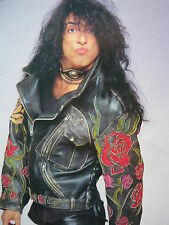 KISS (PAUL STANLEY) - MAGAZINE CUTTING (FULL PAGE PHOTO) (REF JC4)
