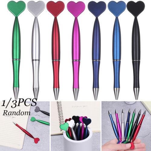3pcs Herz Kugelschreiber 1.0mm Creative Pens Mermaid Tail Kugelschreiber