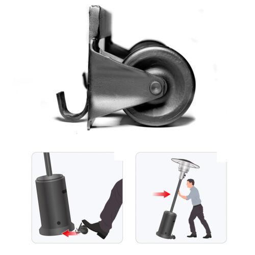 Patio Heater Wheels Universal Patio Heater Wheel Kit Fits All Patio Heaters