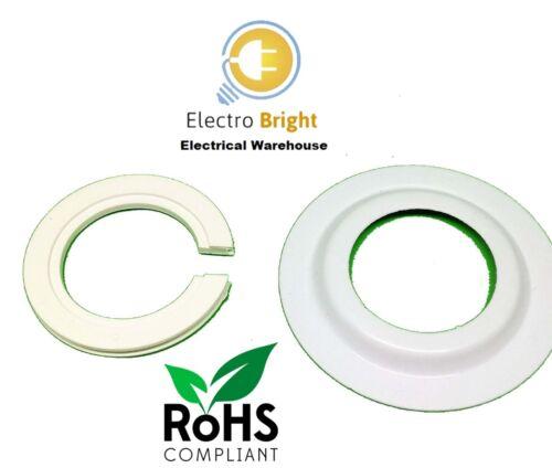 Lamp Shade Adaptor Reducer Ring Converts Euro Shade Size To UK Fitting.