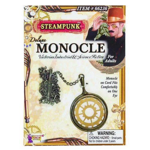 Steampunk Monocle Glasses Fancy Dress Costume Accessory