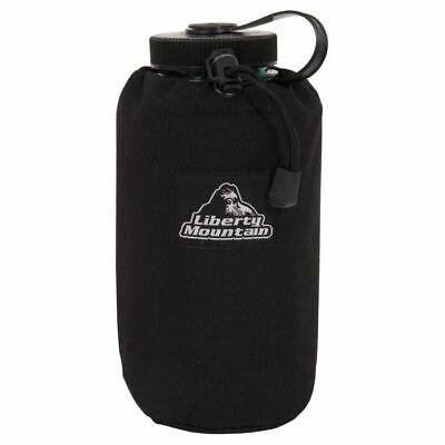 Liberty Mountain 1 Quart Liter Insulated Water Bottle Carrier Blue w//Belt Loop