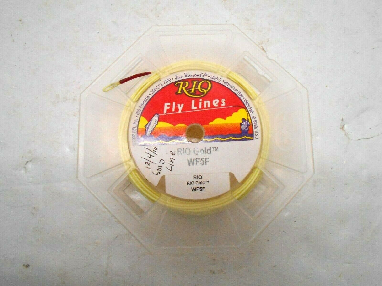 RIO Products Fly Lines oro WF5W Fishing Sports Outdoors Camping Accessories