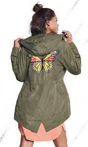 NEW-RAIN-MAC-Ladies-PARKA-Shower-Womens-Festival-RAINCOAT-Size-8-10-12-14-16