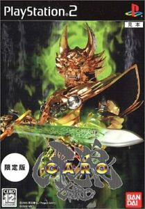 USED-Golden-Knight-Fang-Wolf-Garo-Limited-Edition-With-Magic-Ring-Zarba-JAPAN