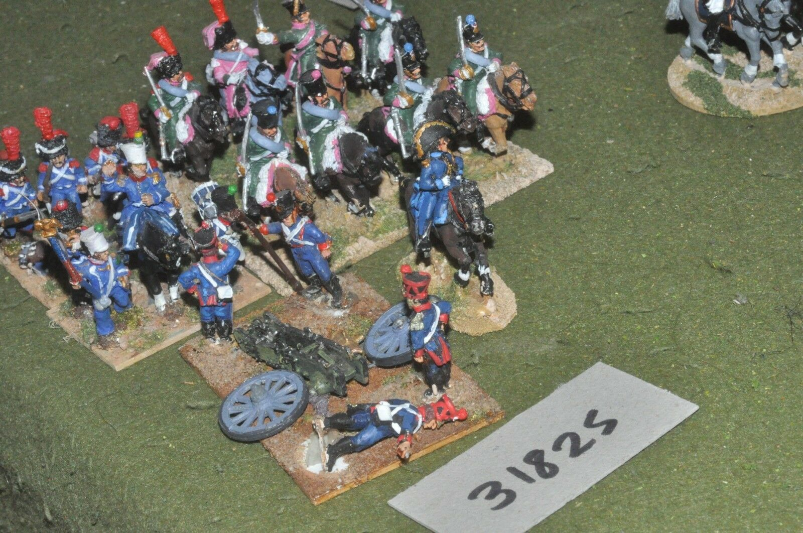25mm napoleonic   french - battle group (as photo) - cav (31825)