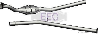 Convertisseur Catalytique//Cat Pour Peugeot 172196 OEM de Qualité