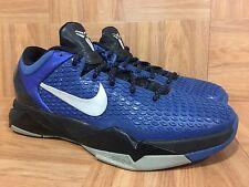 RARE🔥 Nike Zoom Kobe VII System TB Sz 8.5 Gym Royal Blue 517359-400 Basketball