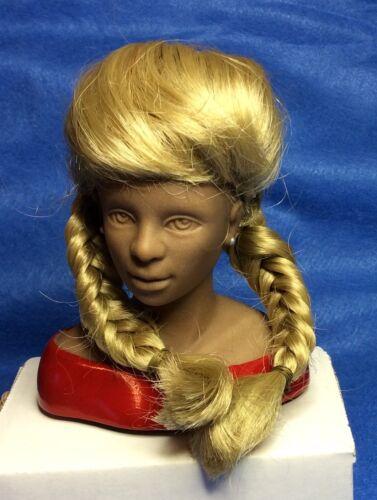 "NEW #200 MONIQUE Kathy DOLL WIG 6/""-7/"" BLONDE Modacrylic Braids"