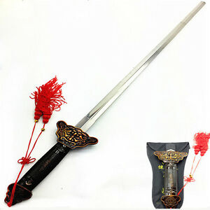 New Chinese Martial Arts Kung Fu Tai Chi Sword Retractable Practice Performance 6962943278318