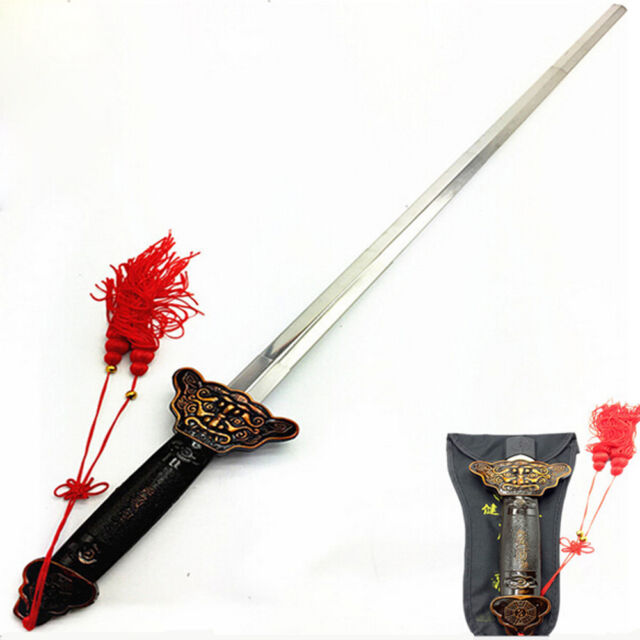 a0c1177ff New Chinese Martial Arts Kung Fu Tai Chi Sword Retractable Practice  Performance