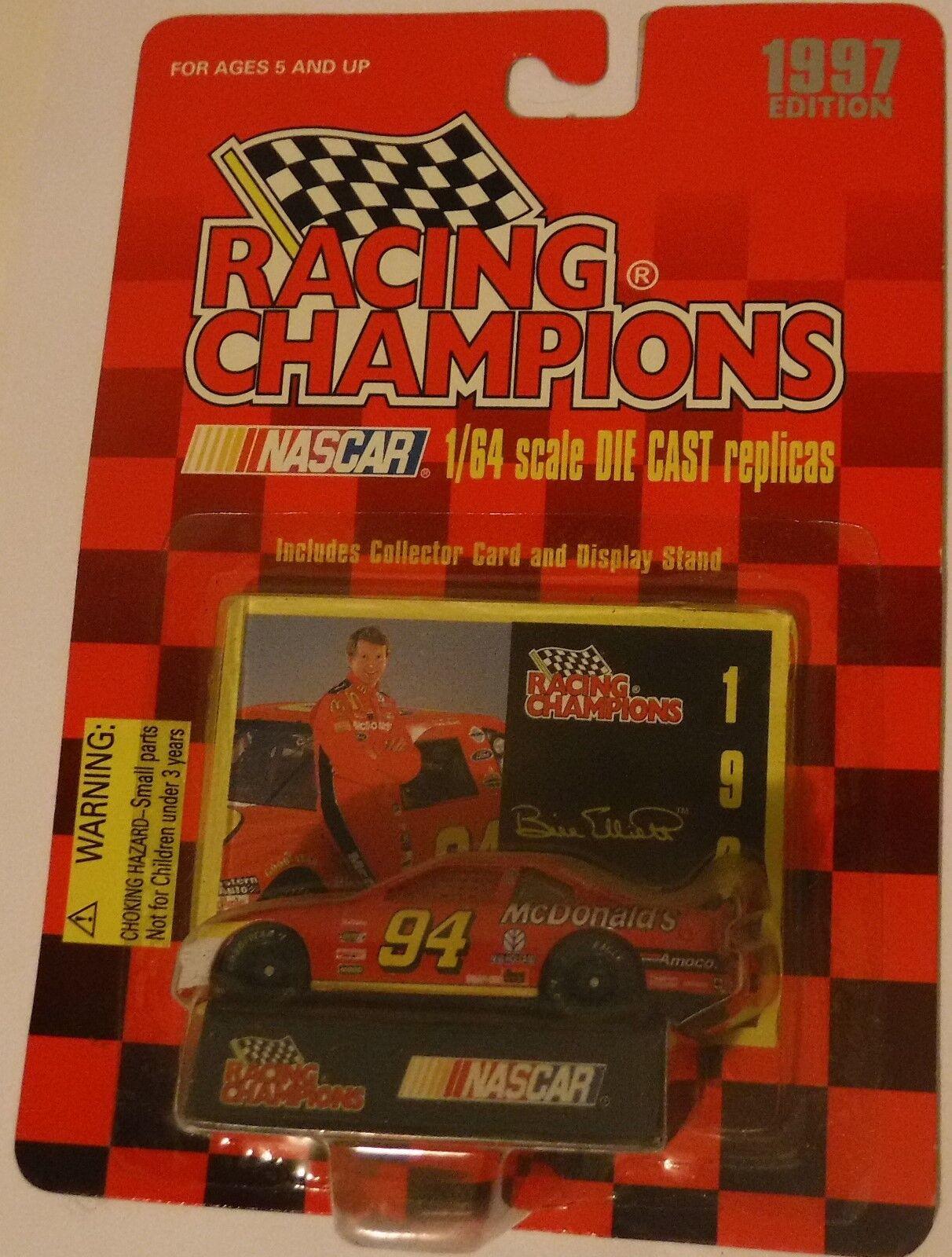 Racing Champions 1997 Mc Mc Mc Donalds Bill Elliott 1 64 scale Die Cast Car 94513c