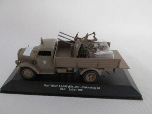 Opel Blitz Con 4erFlak 1:43 Atlas