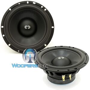 """CDT AUDIO CL-6MSUB 6.5"""" CLASSIC 4 OHM SERIES MID-BASS OR SUB-WOOFERS NEW PAIR"""